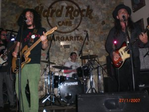 En Vivo en el Hard Rock de Margarita
